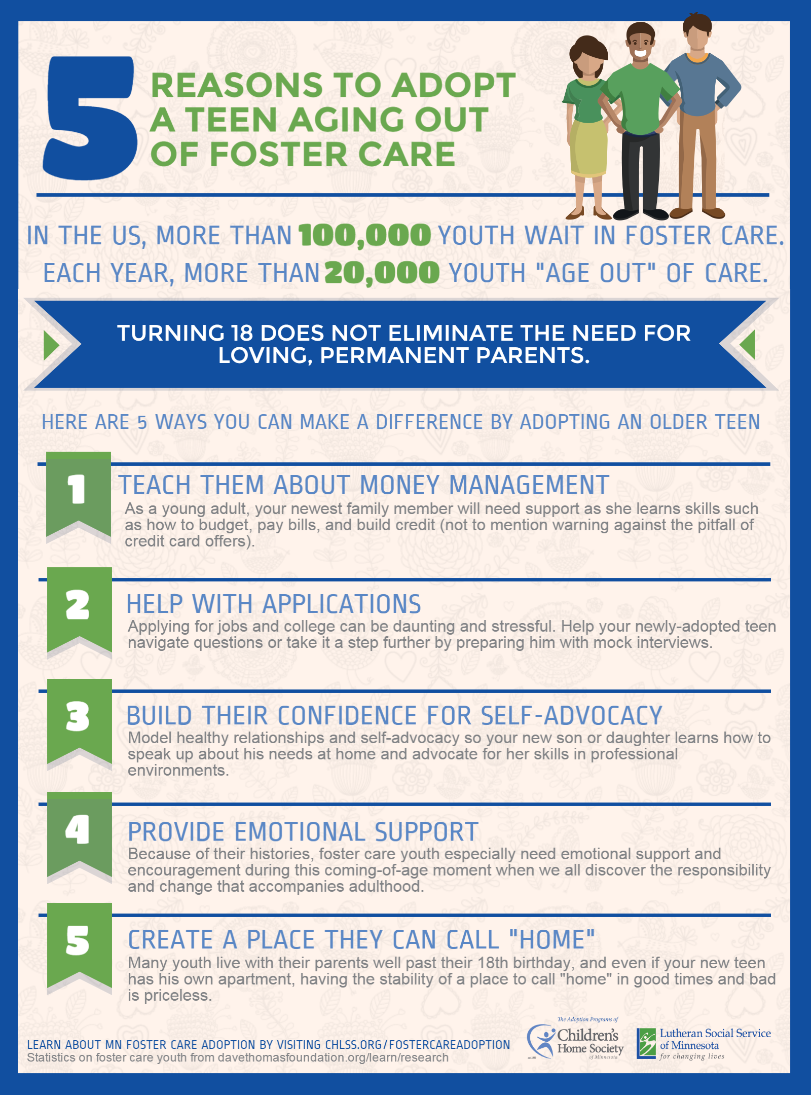 Infographic  5 Reasons To Adopt A Teen Aging Out Of -8841