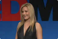 Aimee Mullins talks about adversity and disabilities in a Ted Talk.